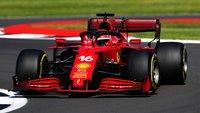 Ferrari SF21 British GP 2021 #16 Charles Leclerc in 1:18 scale by Looksmart