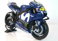 2018 VALENTINO ROSSI YAMAHA YZR-M1 MOVISTAR in 1:12 Scale by Minichamps
