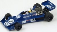 1976 Tyrrell 007, No.3 Spanish GP, Jody Scheckter Model Car in 1:43 Scale by Spark