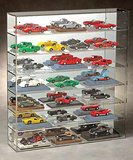 C-6022 - 1:43 Scale Car Display Case - 21 Car - Wall Mountable