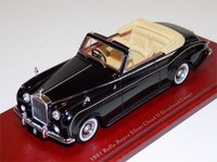 1961 Rolls-Royce Silver Cloud II Drophead Coupe Model Car in 1:43 Scale by True Scale Miniatures