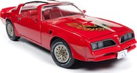 1977 Pontiac Trans-Am in Red in 1:18 Scale by Auto World