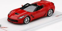 2017 Chevrolet Corvette Grand Sport Convertible in 1:43 Scale by Truescale Miniatures