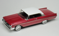 1961 Mercury Monterey Red Metallic in 1:43 scale by Goldvarg
