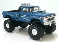 1974 Ford F-250 Monster Truck with 48-Inch Tires (Midwest four wheel drive center) in 1:43 scale by Greenlight