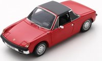 1973 Porsche 914/6 red in 1:43 scale by Spark