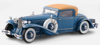 1929 Cord L-29 Coupe by Hayes for Count Alexis de Sakhnoffsky chassis 2927005 in blue in 1:24 scale by Esval