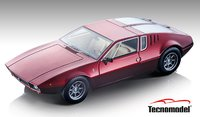 1971 De Tomaso Mangusta Metallic Volcano Red  in 1:18 Scale by Tecnomodel
