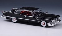 1958 Chrysler Imperial Crown Convertible closed roof in 1:43 scale by GLM