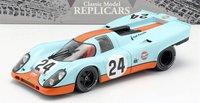Porsche 917K Gulf Winner Spa #24 1970 in 1:18 scale by CMR