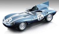 Jaguar D-Type Long Nose Le Mans 24h 1957 2nd in 1:18 Scale by Tecnomodel