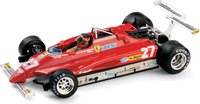 FERRARI 126C2 GP S.MARINO'82 VILLENEUVE in 1:43 scale by BRUMM