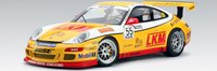 PORSCHE 997 GT3 CUP 2007 TEAM JEBSEN D.O'YOUNG #55(LIMITED EDITION OF 2000PCS WORLDWIDE) by AUTOart in 1:18 Scale