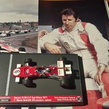 FERRARI 312B Mario Andretti South Africa Grand Prix 1971 in 1:43 scale by BRUMM