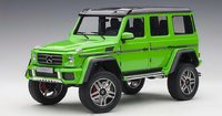 Mercedes-Benz G500 4x4²  in Green 1:18 Scale by AUTOart
