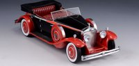 Rolls-Royce Phantom II Brewster Newmarket Permanent Sport Sedan Resin Model Car in 1:43 Scale by GLM