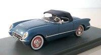 1953 Corvette in Metallic blue  (custom color)in 1:43 scale by NEO