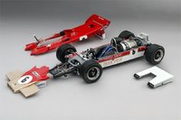 1971 Lotus 56B #6 Race of Champions Team Lotus E. Fittipaldi Model Car in 1:18 Scale by Truescale Miniatures
