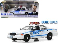 Ford Crown Victoria Police Interceptor Blue Bloods in 1:43 Scale by Greenlight