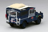 1955 Land Rover Oxford & Cambridge Far Eastern Expedition in Oxford Blue Model Car in 1:43 Scale by Truescale Miniatures