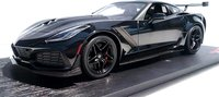 2019 Corvette ZR1 in Black Mint Models Exclusive LTD ED of 299 in 1:18 Scale