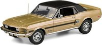 1968 Mustang High Country Special in Sunlit Gold in 1:24 Scale by the Franklin Mint