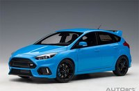 Ford Focus RS 2016, Nitrous Blue in 1:18 Scale by AUTOart