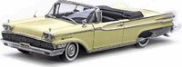 1959 Parklane Open Convertible in  Madeira Yellow Diecast Model Car in 1:18 Scale by Sun Star