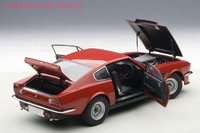 1985 Aston Martin V8 Vantage in Suffolk Red Diecast Model Car in 1:18 Scale by AUTOart