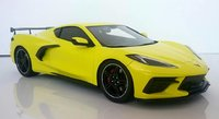 2020 Chevrolet Corvette Stingray Accelerate Yellow Metallic in 1:18 Scale by Topspeed