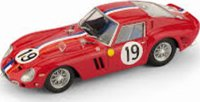 1962 FERRARI 250 GTO 24H LM GUICHET-NOBLET IN 1:43 SCALE BY BRUMM