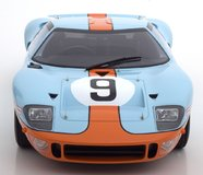 Ford GT 40 MK1 #9 Le Mans Winner 1968 Rodriguez Bianchi in 1:12 Scale  by CMR