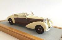 1939 Bugatti T57C Aravis Letourneur & Marchand sn57732 Maurice Chevalier Resin Model Car in 1:43 Scale by Ilario