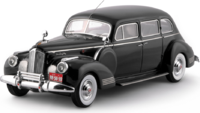 1942 Packard 180 7 Passenger Limousine Black in 1:43 Scale by Esval Models