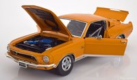 1968 Shelby GT500 KR, Special order color WT 5014 by Acme in 1:18 Scale