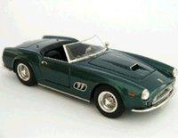 1962 Ferrari 250 GT SWB Spyder California Princess Aga-Khan Resin Model Car in 1:43 Scale by Illario