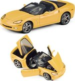 2007 Corvette Victory Edition in Yellow of 250 pieces in 1:24 Scale by the Franklin Mint