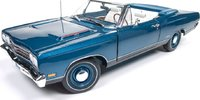 1969 Plymouth GTX Convertible Diecast  in 1:18 Scale by Auto World