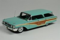 1960 Mercury Colony Park in Crystal Turquoise in 1:43 scale by Goldvarg