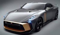 2018 Nissan GT-R 50 by ITALDESIGN in 1:18 Scale by GT Spirit