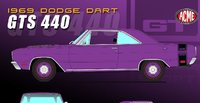 1969 Dodge Dart GTS 440 in 1:18 Scale by Acme
