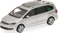 VOLKSWAGEN SHARAN - 2010 - SILVER METALLIC Model Car in 1:43 Scale by Minichamps