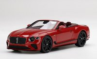Bentley Continental GT Convertible Mulliner Number 1 Edition in 1:18 scale by Topspeed