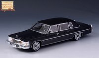 1978 Cadillac Fleetwood 75 black in 1:43 scale by Stamp Models