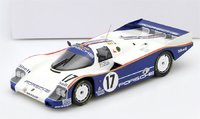 1987 PORSCHE 962 C Winner Le Mans Diecast Model in 1:18 Scale by Norev