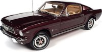 1965 Ford Mustang 2+2 in 1:18 Scale by Auto World