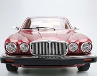 1982 Jaguar XJ6 in Metallic Red in 1:18 Scale by LS Collectibles