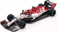 ALFA ROMEO RACING ORLEN C39 NO.7 TURKISH GP 2020 in 1:43 scale by Spark