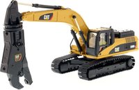 Cat® 330D L Hydraulic Excavator with Shear in 1:50 scale by Diecast Masters