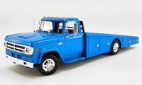 1970 DODGE D-300 RAMP TRUCK - CORPORATE BLUE in 1:18 scale by Acme